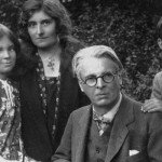 W B Yeats with his family
