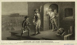 Capture of Fort Ticonderoga in 1775 by Ethan Allen