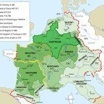 Frankish Kingdom Map
