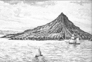 Krakatoa before the 1883 eruption