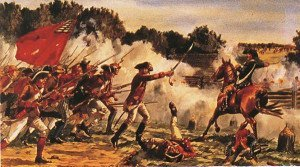 Benedict Arnold in the Battles of Saratoga