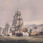 1776 Battle of Valcour Island depiction