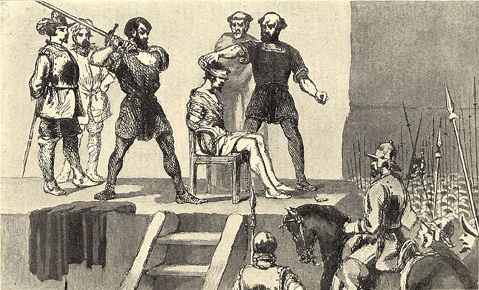 Execution of Vasco Nunez de Balboa
