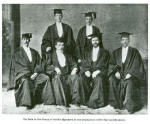 WEB Du Bois at Harvard graduation