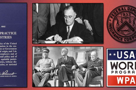 an evaluation of the major successes of president franklin d roosevelt Franklin d roosevelt library the president greets enthusiastic supporters in warm springs, ga, on dec 1, 1933 march 4, 1933, was perhaps the great depression's darkest hour.