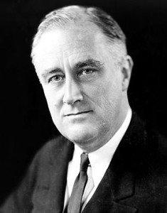 Franklin D. Roosevelt in 1933