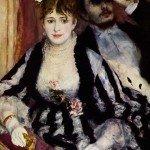The Theatre Box (1874) - Pierre-Auguste Renoir