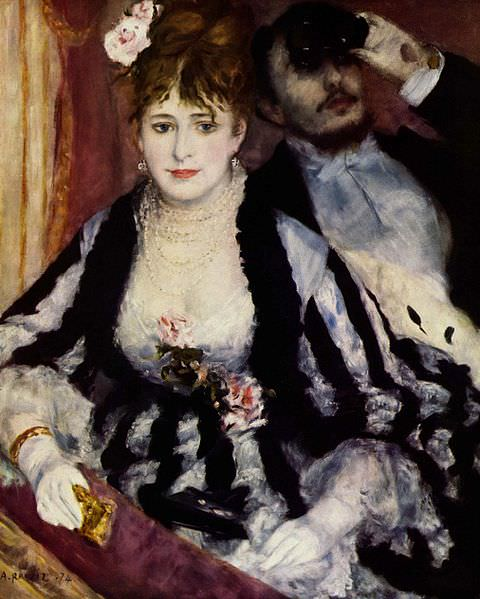 Dance at Bougival (1883) - Pierre-Auguste Renoir