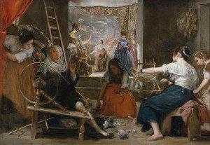 Las Hilanderas (1657) - Diego Velazquez