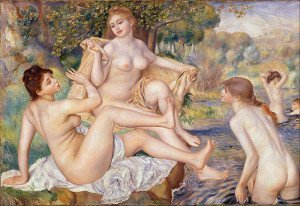 The Large Bathers (1887) - Pierre-Auguste Renoir