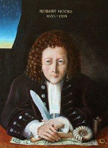 Portrait of Robert Hooke by Rita Greer