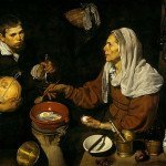 Old Woman Frying Eggs (1618) - Diego Velazquez