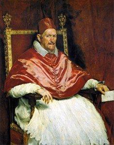 Portrait of Innocent X (1650) - Diego Velazquez