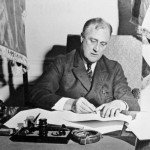 Roosevelt signs the Emergency Banking Act