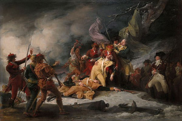 The Death of General Montgomery in the Attack on Quebec