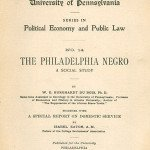 The Philadelphia Negro by Du Bois
