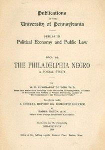 The Philadelphia Negro by Du Bois