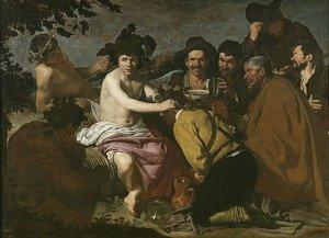 The Triumph of Bacchus (1629) - Diego Velazquez