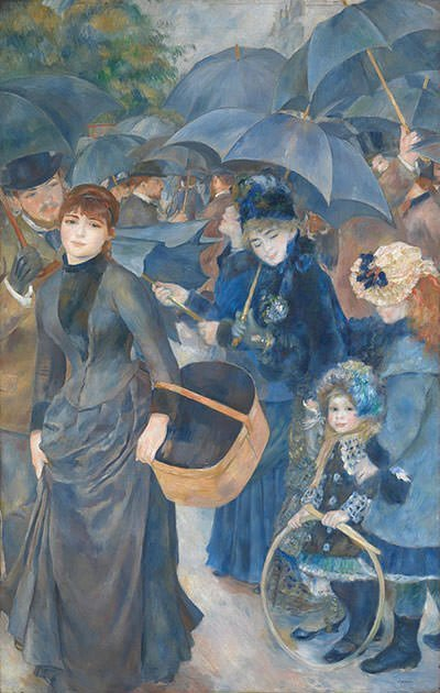 Dance at Bougival (1883) - Pierre-Auguste Renoir