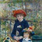 Two Sisters (1881) - Pierre-Auguste Renoir