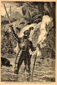 Vasco Nunez de Balboa - Pacific Ocean