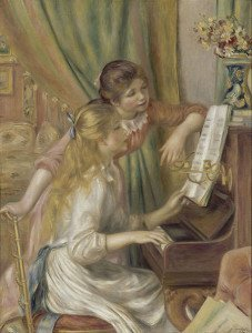Young Girls at the Piano (1892) - Pierre-Auguste Renoir
