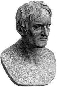 Bust of John Dalton by Francis Legatt Chantrey