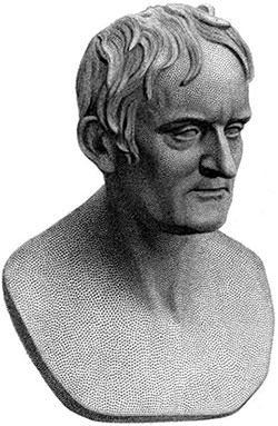 Bust of John Dalton by Francis Legatt Chantrey