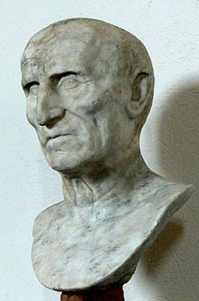 Bust of Roman emperor Galba