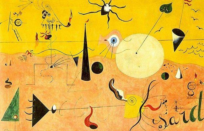 Blue II (1961) - Joan Miro