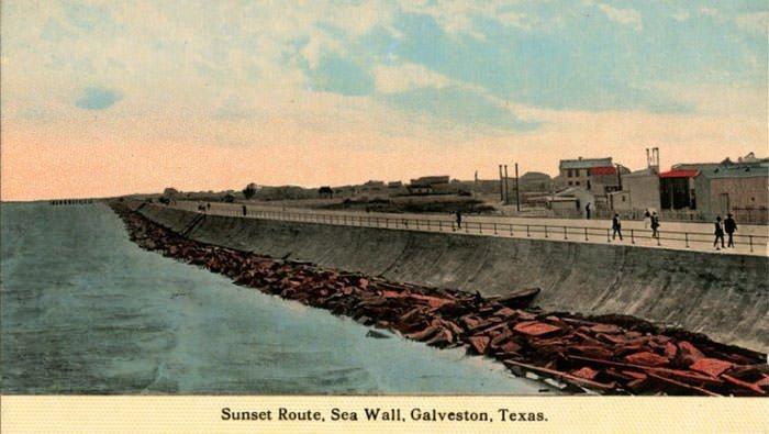1900 Galveston hurricane, St. Lucas Terrace