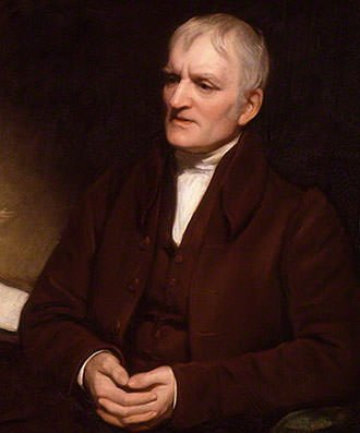 John Dalton in later years by Thomas Phillips