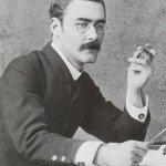 Rudyard Kipling young