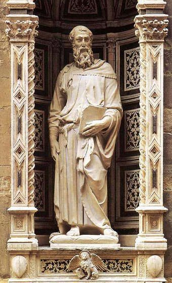 Saint Mark (1413) - Donatello