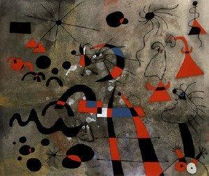The Escape Ladder (1940) - Joan Miro
