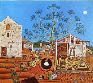 The Farm (1922) - Joan Miro