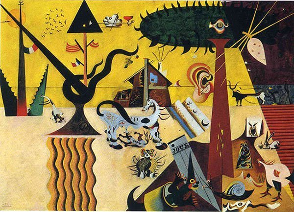 The Tilled Field (1923) - Joan Miro