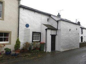 The birthplace of John Dalton in Eaglesfield
