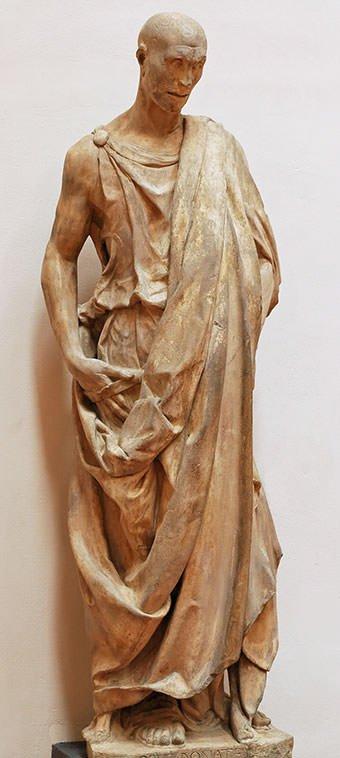 Zuccone (1425) - Donatello