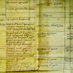 Manuscript of the 1722 Table of Ranks