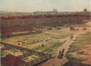 Twelve Collegia Building in 1820