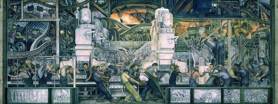 10 most famous works by diego rivera learnodo newtonic for Diego rivera mural paintings