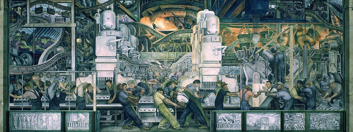 10 most famous works by diego rivera learnodo newtonic for Diego rivera mural