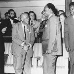 Du Bois with Kwame Nkrumah in 1962