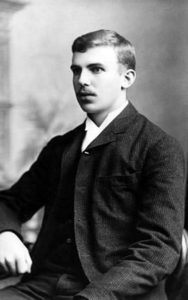 Ernest Rutherford in 1892