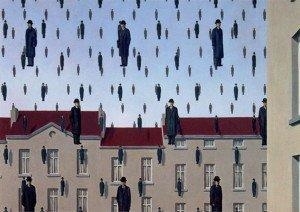 Golconda (1953) - Rene Magritte