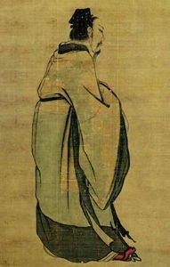 Depiction of King Wu of Zhou