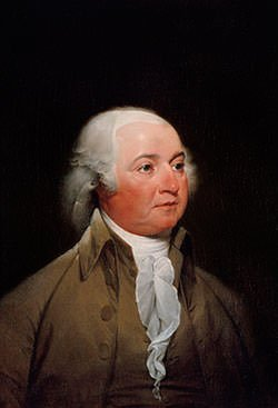 Presidential portrait of John Adams