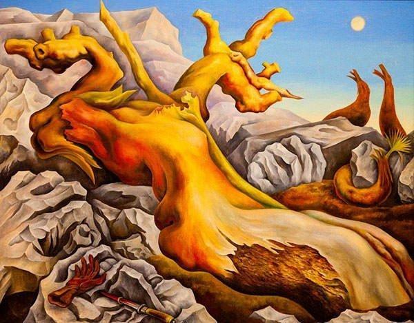 an analysis of diego riveras art work symbolic landscape