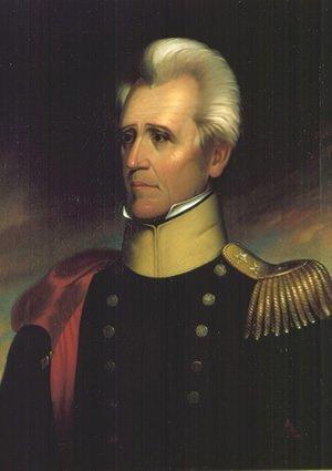 Andrew Jackson portrait by Ralph E.W. Earl